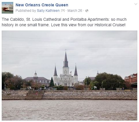 creole queen historical cruise