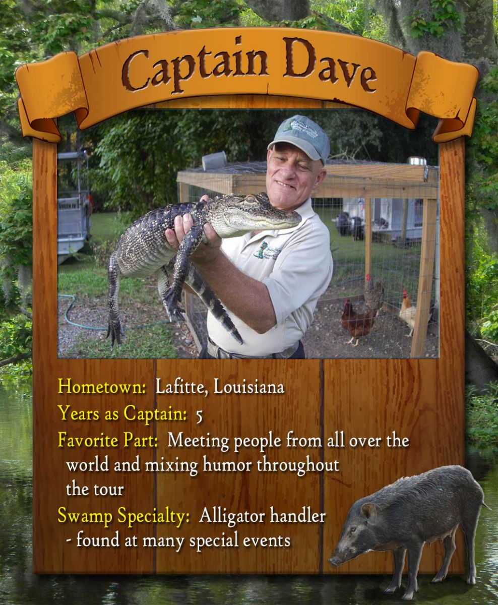 swamp tour captain