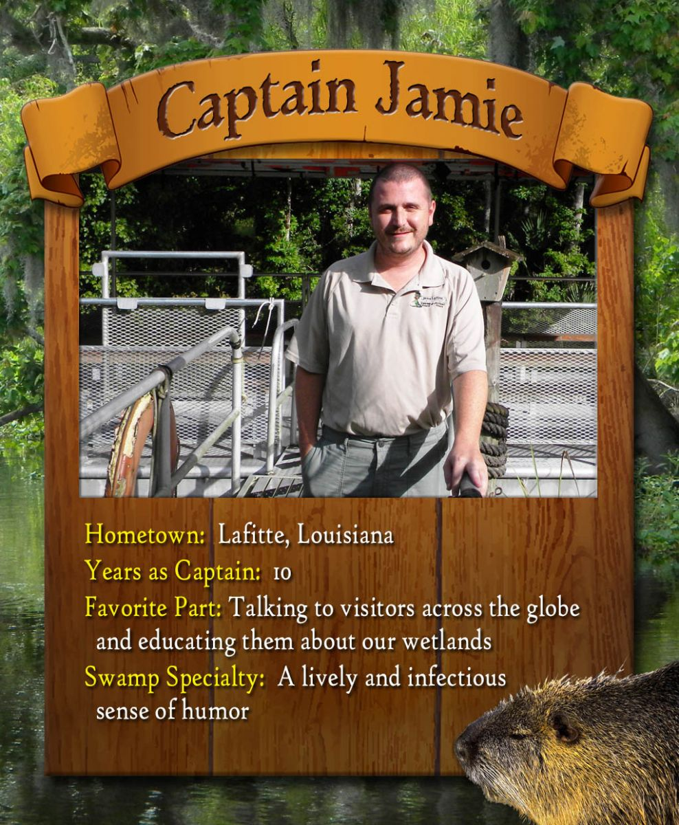 captain jamie swamp tour