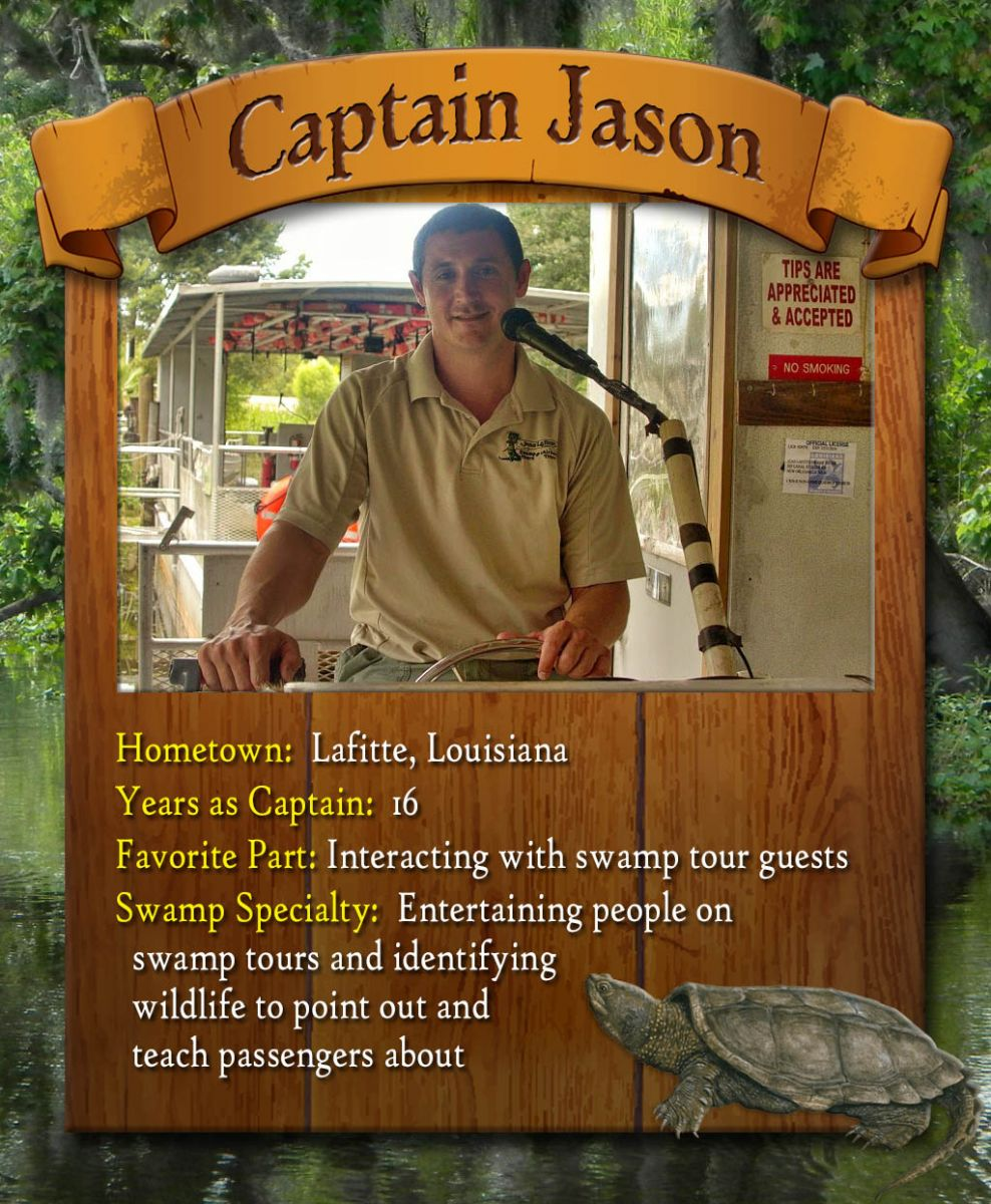 swamp tour captain jason