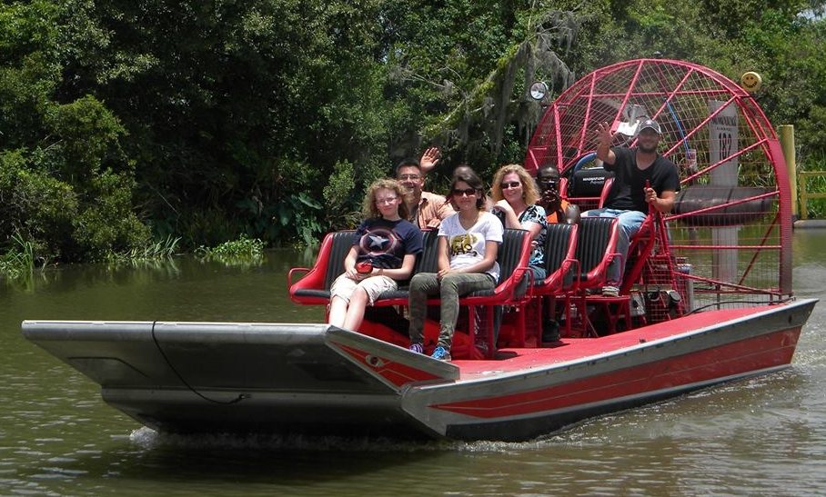 We Wanted To Know: Your Favorite Memory From Jean Lafitte ... Louisiana Swamp Alligator