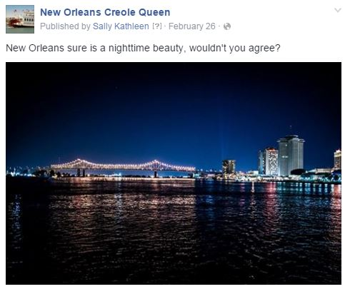 creole queen night cruise